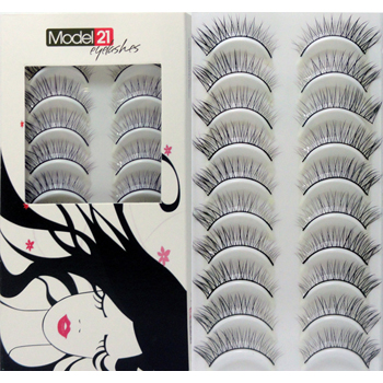 Model 21 Eyelashes No. 31 10 Pairs
